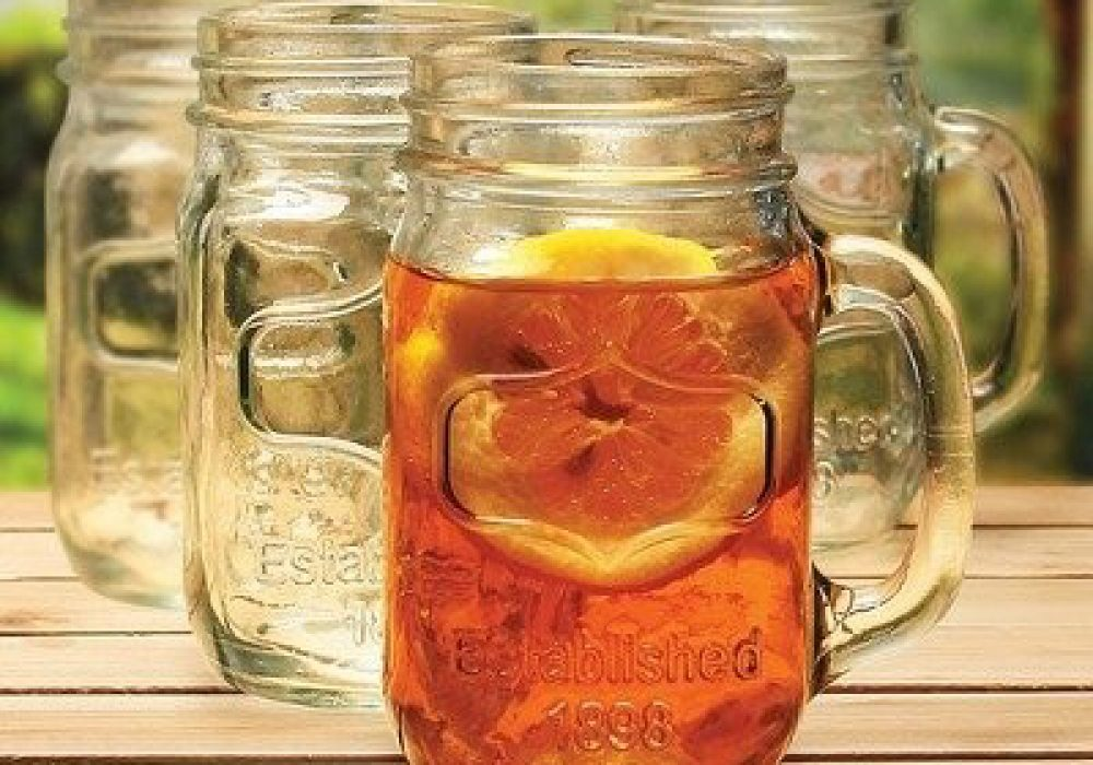 Yorkshire Mason Jar Mug Picnic
