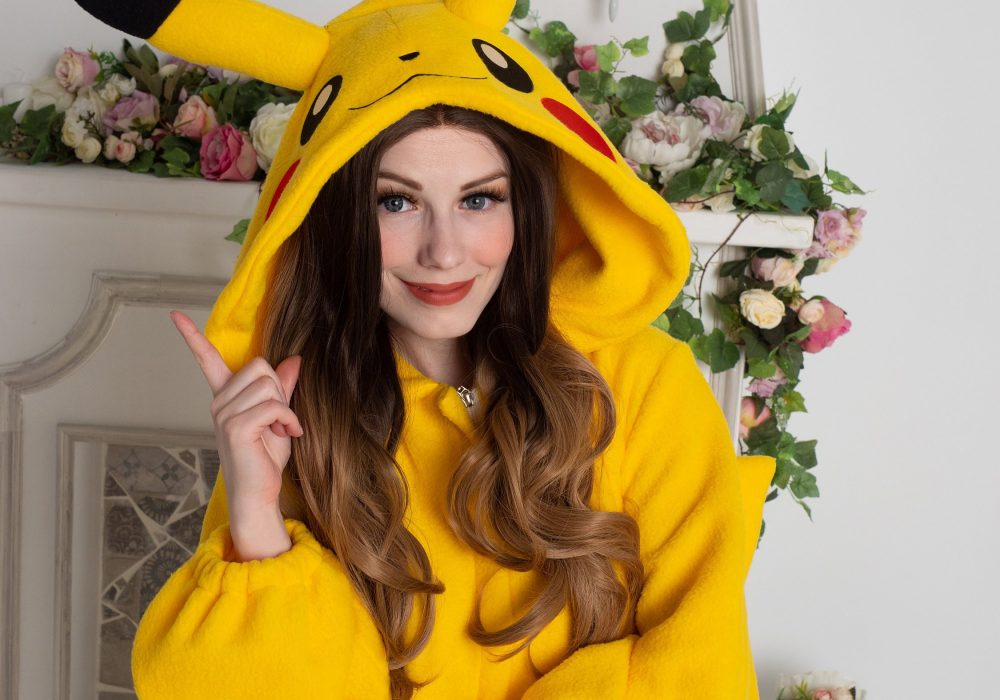 Yotsuba No Clover Pokemon Pikachu Onesie Cool Gift for Her