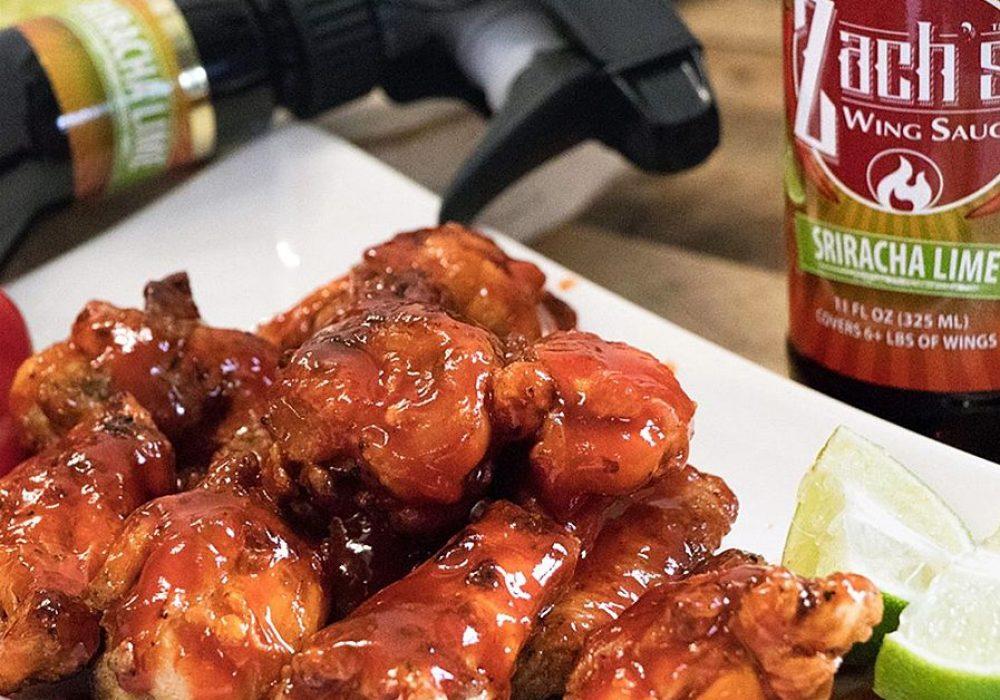Zach's Wing Sauce Sprayable Hot Sauce Food