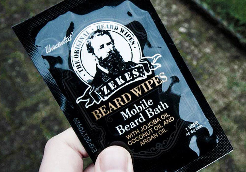 Zekes Original Beard Wipes Cool Stuff to Buy for Him