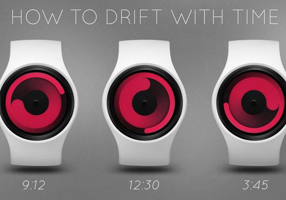 Ziiiro Mercury Gravity Watch How to Tell Time From Rotating Swirls Cool Interesting Product