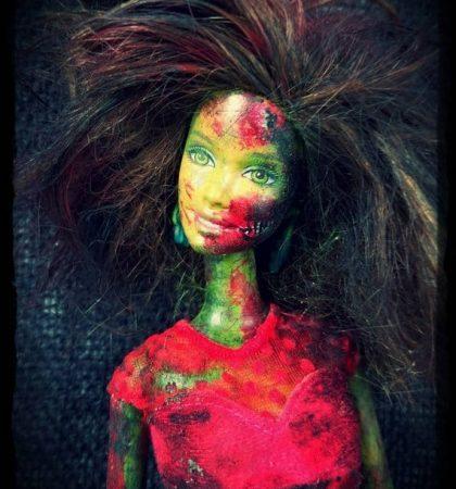 ZomBarbie One Of A Kind Fashion Art Doll