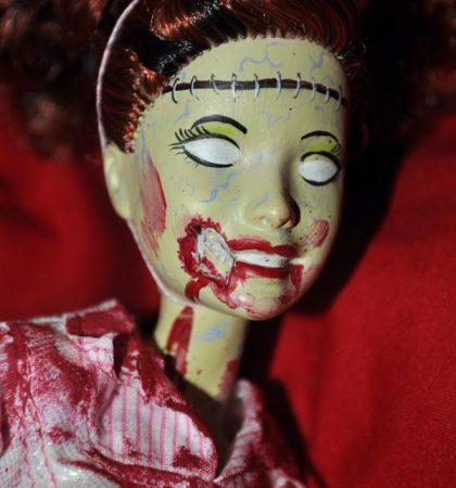 Zombie Candy Striper Barbie