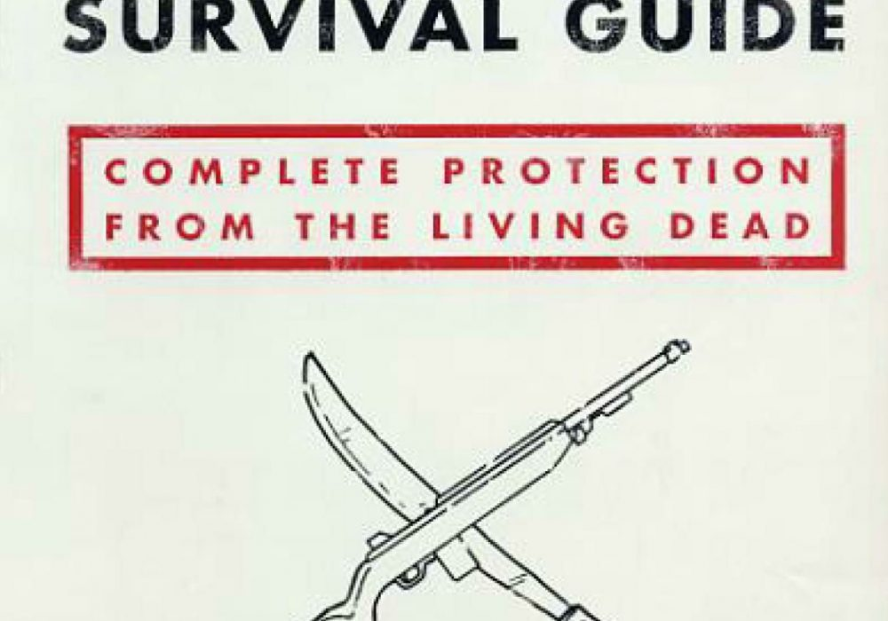 Zombie Survival Guide Front Cover