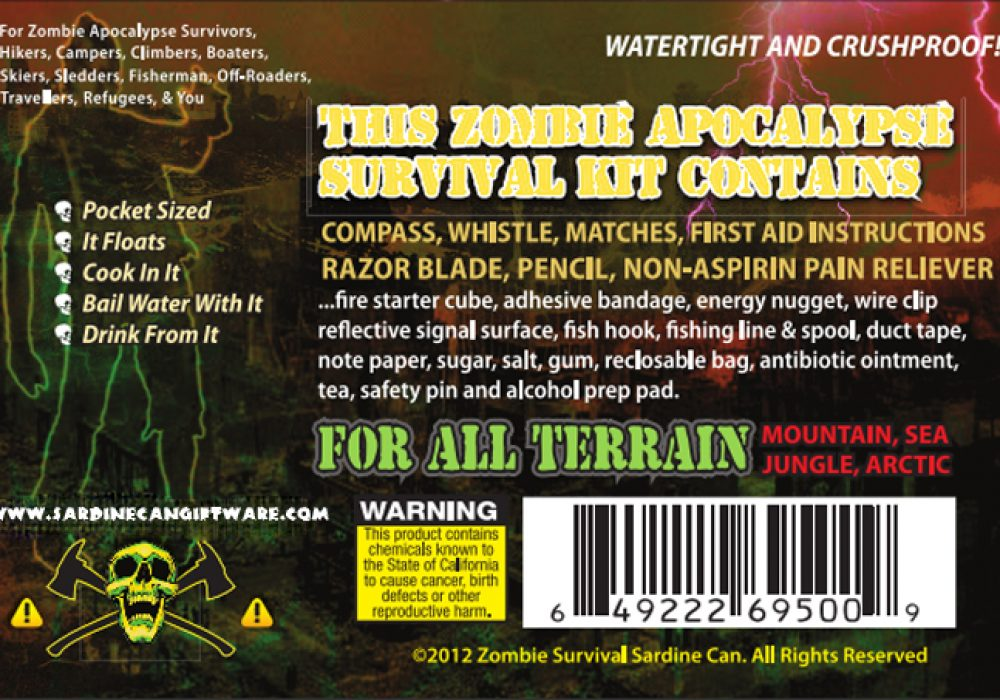 Zombie Survival Sardine Can 1