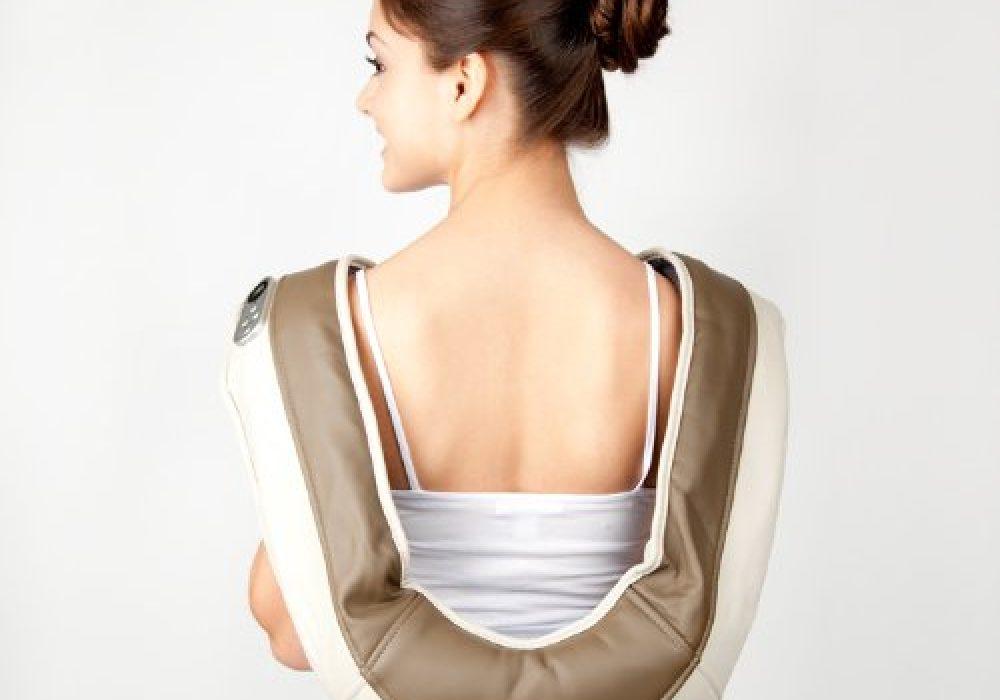 Zyllion ZMA-08 Neck and Shoulder Massager Lower Back