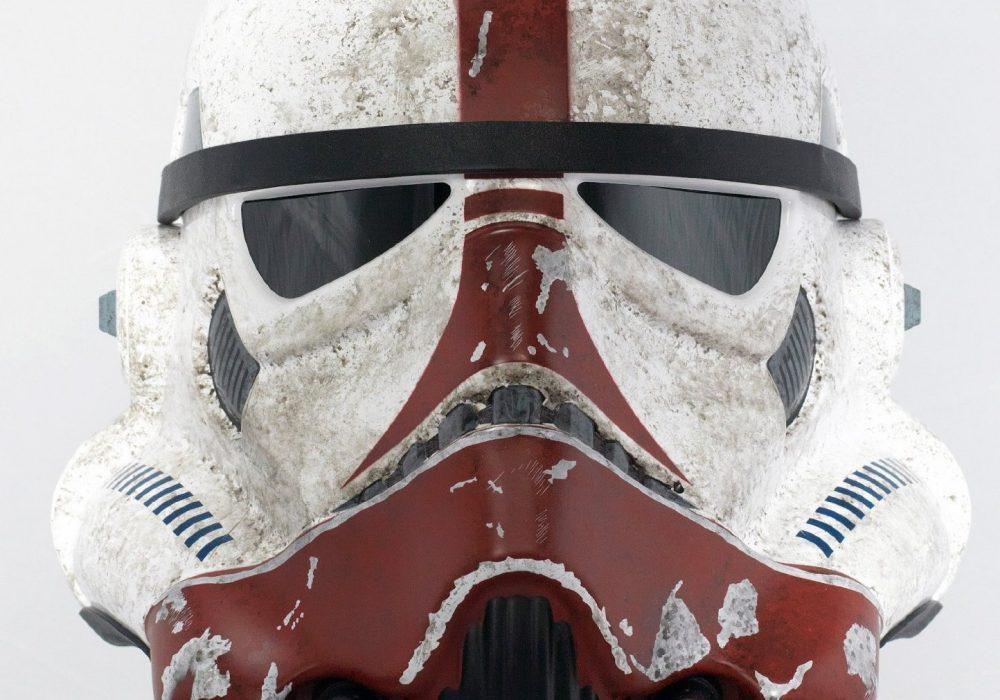 eFX Star Wars the Force Unleashed Incinerator Stormtrooper Helmet Cool Cosplay Kit
