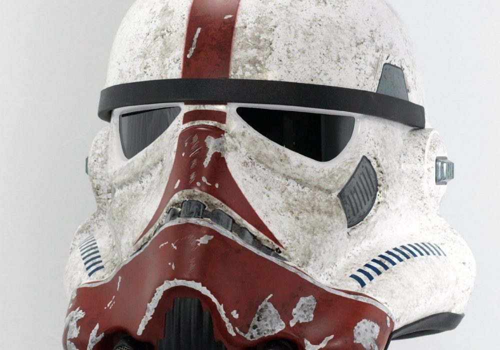 eFX Star Wars the Force Unleashed Incinerator Stormtrooper Helmet LImited Edition Rare Movie Replica