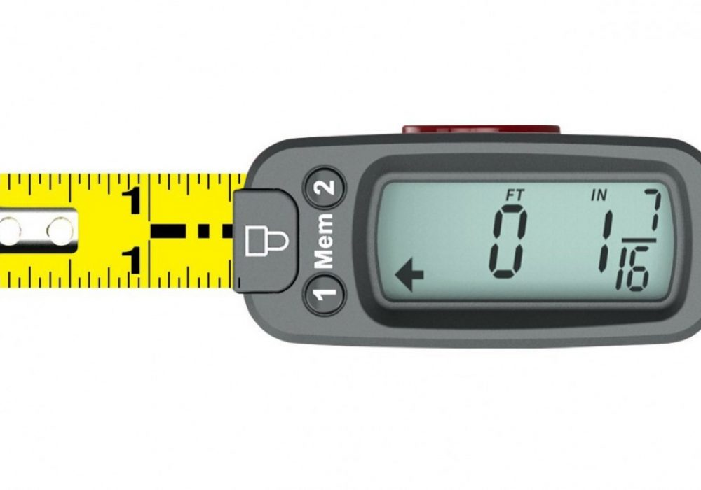 eTape16 Polycarbonate Digital Tape Measure Accurat e Measurement