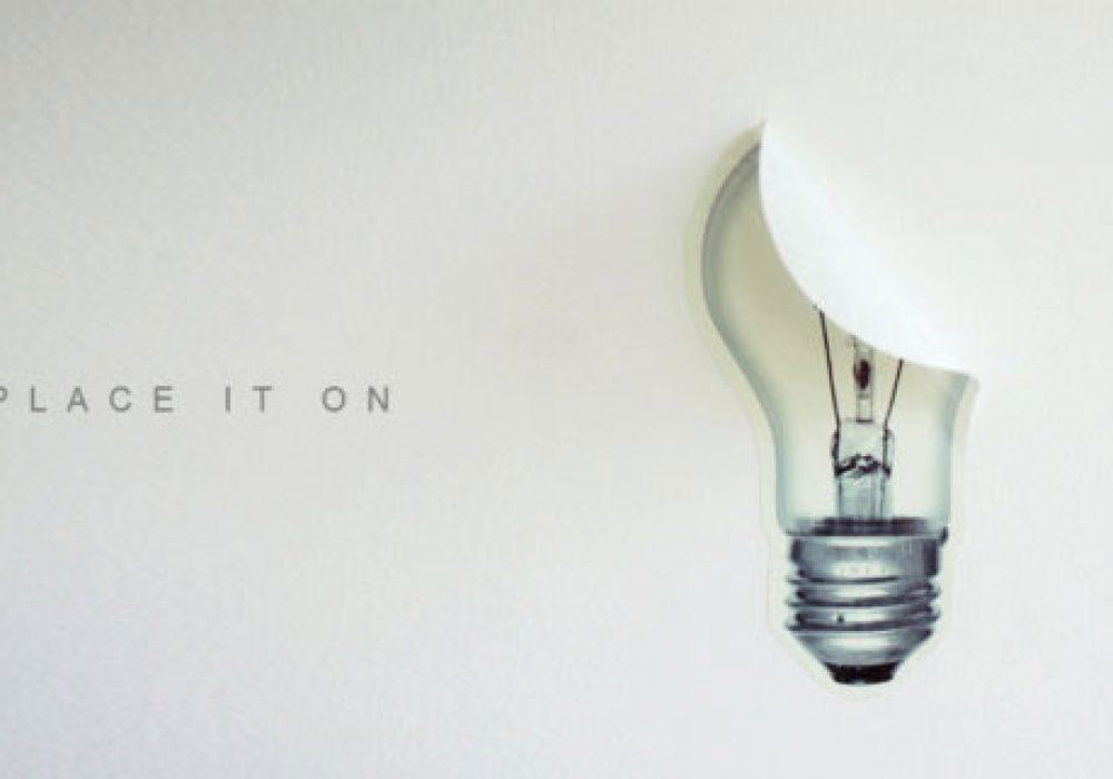 i3Lab Brilliant Idea Wall Decal Inspiring Wallpaper