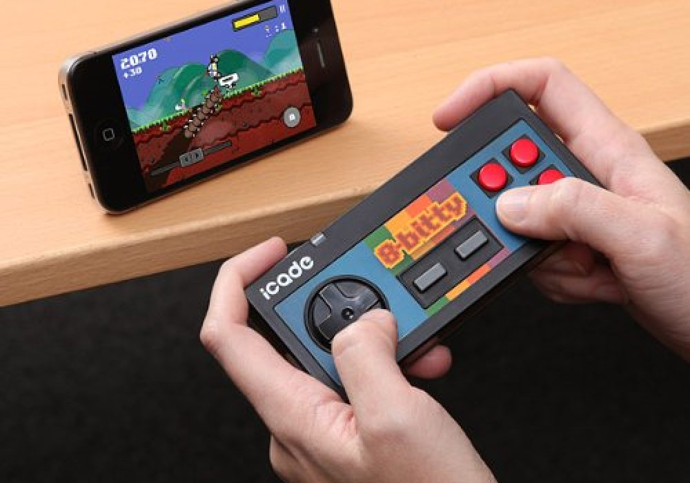 iCade 8-Bitty - Retro Wireless Game Controller for iPhone iPad Android