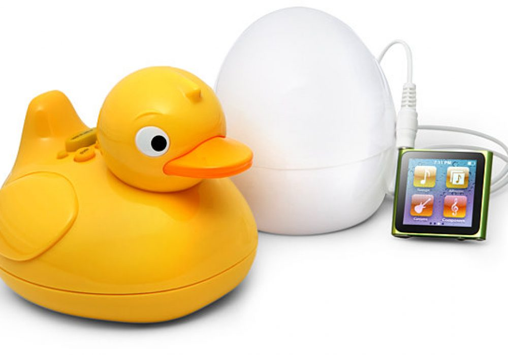 iDuck Bathtub Music Player Funny Gift Idea