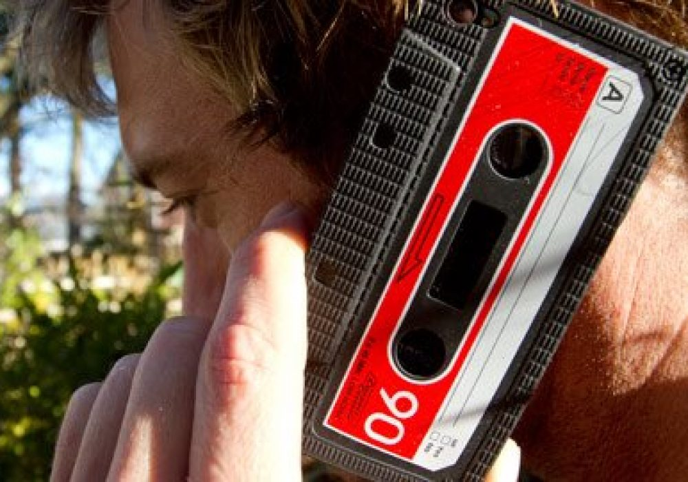 iPhone Cassette Case by Rocketcases Cool Techie Gift Idea