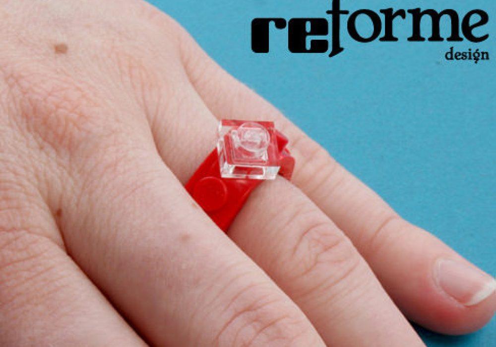 reForme Single Wide Lego Ring Geek Fashion Wear