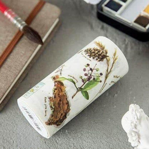 zakkalover Plant Biology Japanese Washi Masking Tape